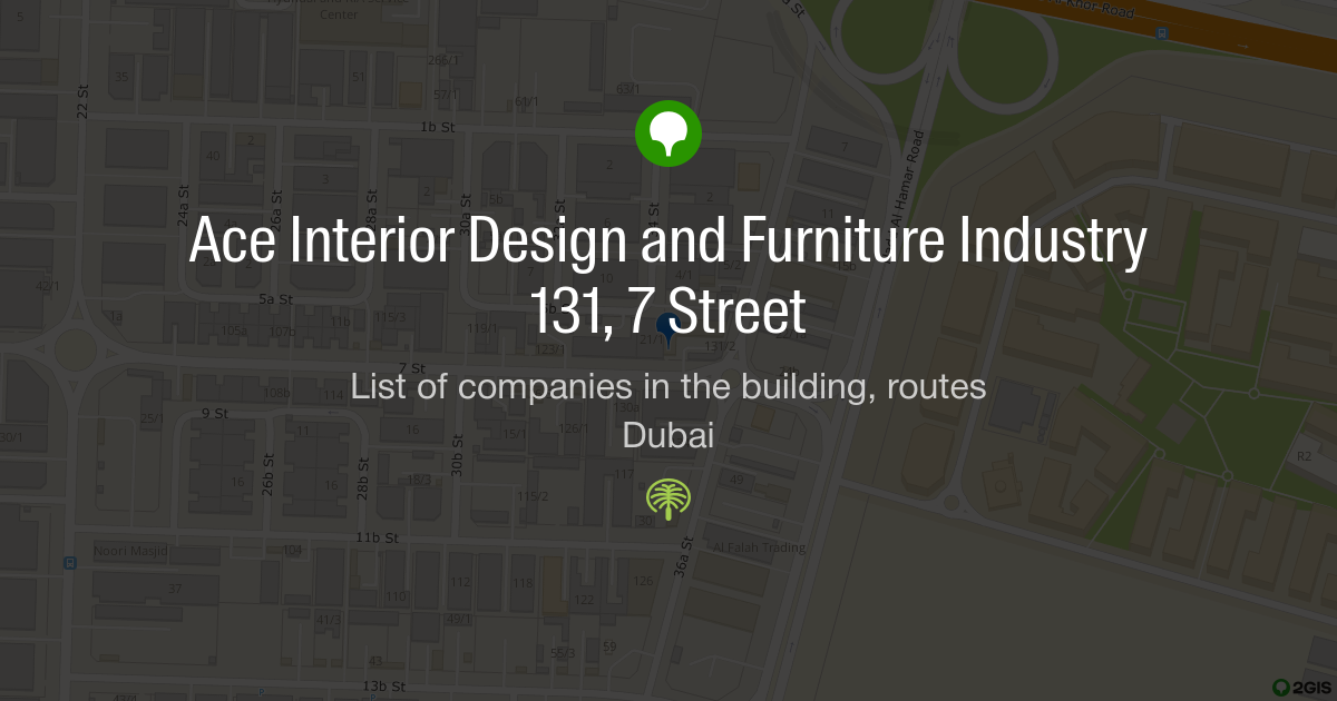 Ace Interior Design And Furniture Industry 131 7 Street